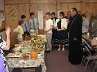 Bishop Nikon blesses food