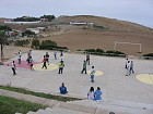 Soccer game at Orphanage