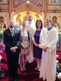 The Pastor and His Family -- Pascha 2015