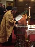 Fr. John blessing water