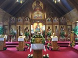 The Church before Paschal Vespers on the Great and Holy Day of Pascha