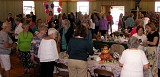 The Parish Sisterhood hosted their Festival of Tables on September 18. A big crowd gathered to enjoy the beautifully decorated tables, the great food, and the fun fashion show!
