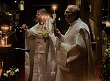 Fr. John and Protodeacon Paul perform a Paschal censing